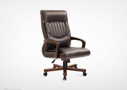 صندلی کارشناسی راینو مدل M470N با پایه چوبی