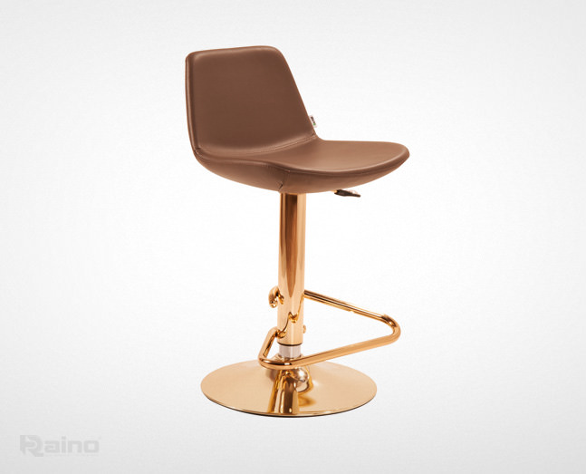 صندلی اپن راینو K208DX-G با پایه طلایی رنگ و قیمت مناسب