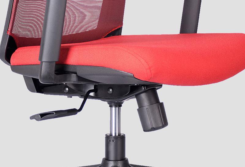 نمای پایه صندلی اداری و نمایش جک و مکانیزم استکانی