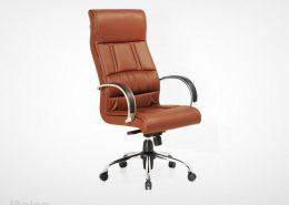 صندلی مدیریت راینو M540C با دسته آلومینیوم و رویه چرم