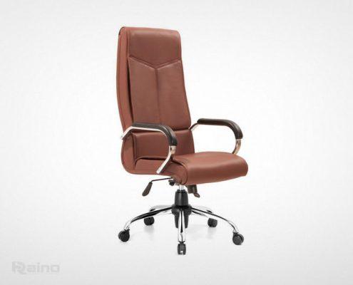 صندلی مدیریت راینو مدل M550S رنگ قهوه ای