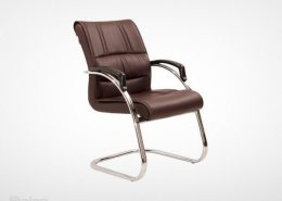 صندلی کنفرانس راینو C540H با پایه و دسته کروم و قیمت خرید مناسب