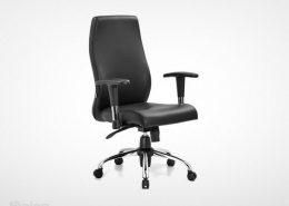 صندلی کارمندی راینو J512B با دسته قابل تنظیم