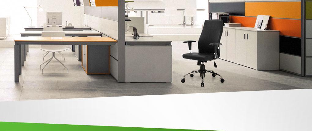 صندلی کارشناسی راینو با دسته قابل تنظیم در فضای کار مدرن