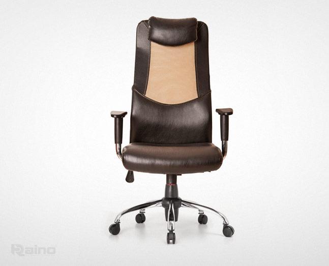 صندلی مدیریت راینو مدل M520B از نمای جلو