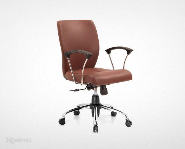صندلی کارمندی راینو J510T پنچ پر با دسته فلزی