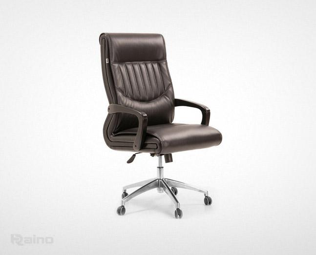 صندلی اداری راینو مدل M470N با پایه فلزی و دسته ثابت