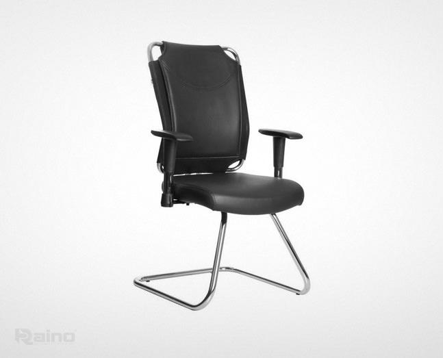 صندلی کنفرانس راینو مدل C518 با دسته قابل تنطیم