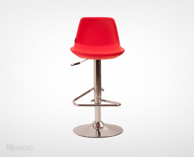 صندلی اپن راینو K208DX رنگ قرمز از نمای جلو