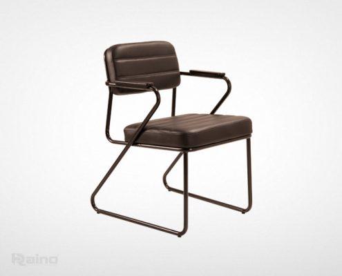 صندلی کنفرانس راینو مدل C519 رتگ قهوهای