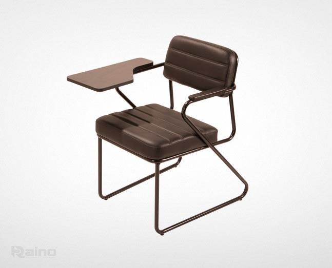 صندلی دانشجویی راینو مدل D519 با جای دست چوبی