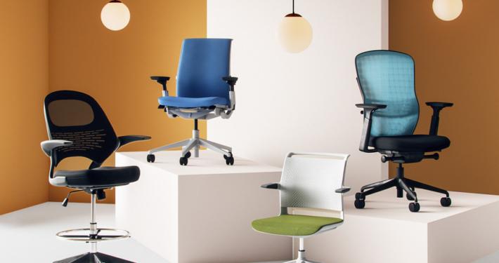 صندلی اداری در طرح و رنگ ها متنوع